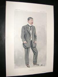 Vanity Fair Print 1913 Frank Harris