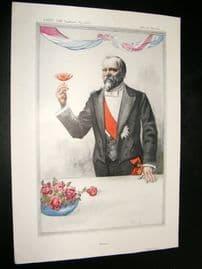 Vanity Fair Print 1913 M. R. Poincare