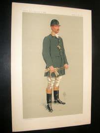 Vanity Fair Print 1913 Malcom Burr, Sport Rider