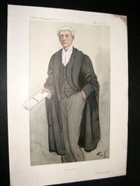 Vanity Fair Print 1913 S. O. Buckmaster, Legal