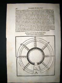 Vegetius 1536 Medieval Military Woodcut #60