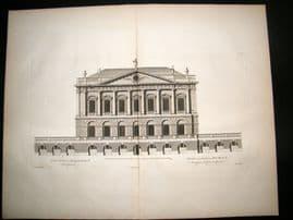Vitruvius Britannicus 1771 LG Architecture Print. Spencer House St. James London