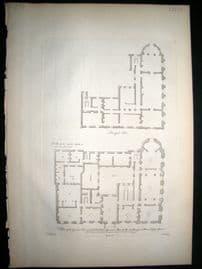 Vitruvius Britannicus C1720 Plan. Principal & Ground Floor, Spencer House