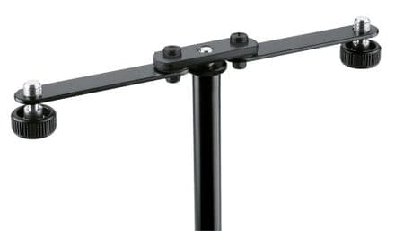 K&M 23510 Microphone bar - black