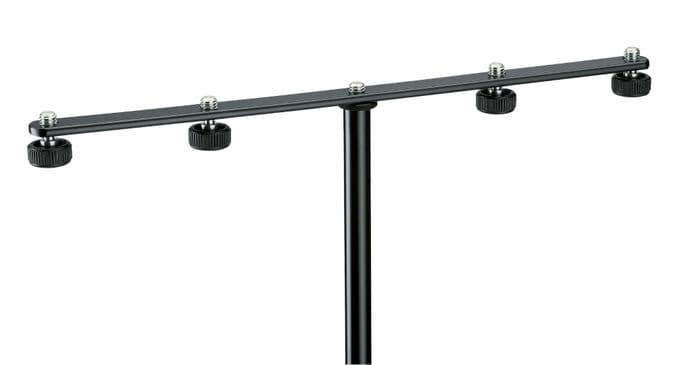 K&M 236 Microphone bar - black