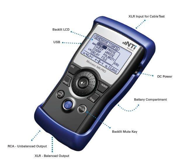 Minirator Mr Pro | Test Products | Ampman Audio Services
