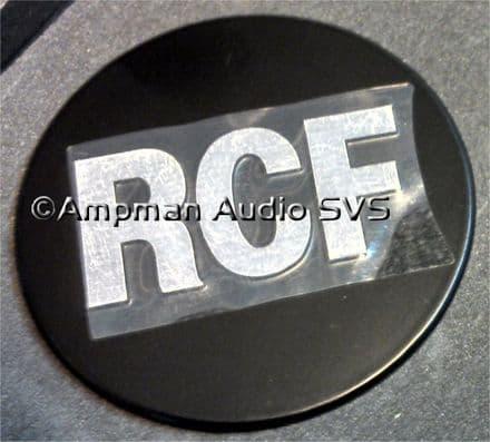 RCF Logo/Badge - Black