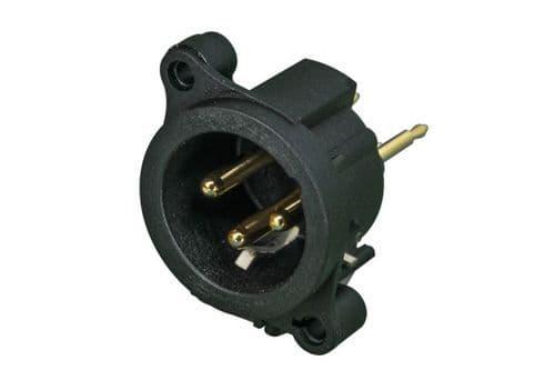 RCF Male XLR output socket x5