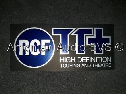 RCF TT+ Logo for Grille