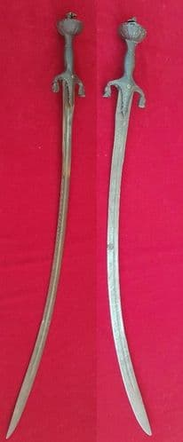 A good 18-19th Century Indian sword PULWAR. Good condition. Ref 1700.