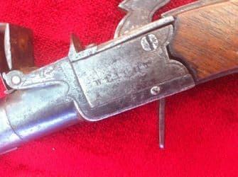 A good English flintlock pocket pistol made by