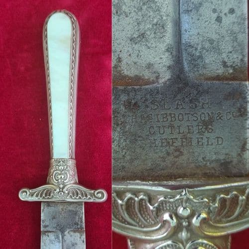 A rare 19th century SHEFFIELD Bowie Knife engraved - No Me EmbainesSin Honor. Circa 1860.  Ref 3521