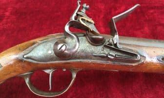 Danish Military Model 1772 Heavy Dragoon Flintlock Holster Pistol.  Ref 3011..