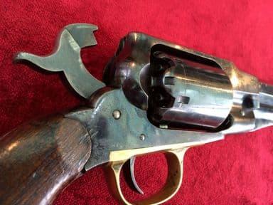 """X X X SOLD  X X X  A rare American Remington """"New Model Army"""" .44 calibre Percussion Revolver c.1863-1875. Ref 8577."""