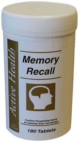 Memory Recall - 180 Tablets