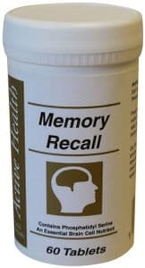Memory Recall - 60 Tablets