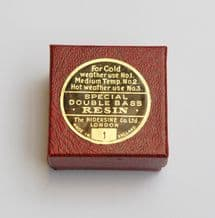 Double Bass Rosin No 1
