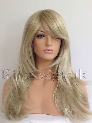 HARPER: TWO TONE BLONDE MIX HEAT RESISTANT WIG