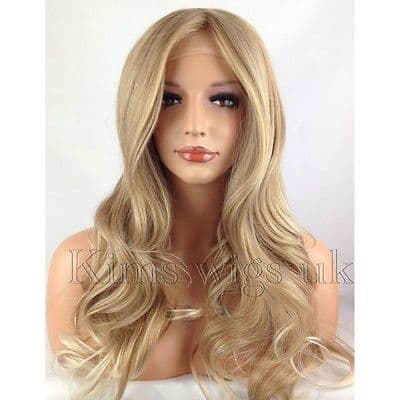 PARIS: BLONDE TIPPED LACE FRONT WIG KW34