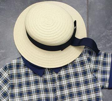 Beehive Summer Straw Hat