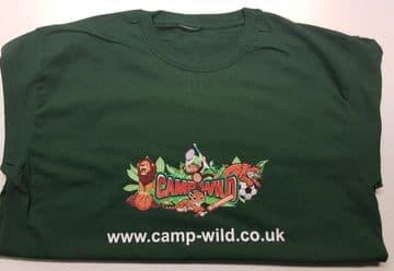 Camp Wild T Shirt