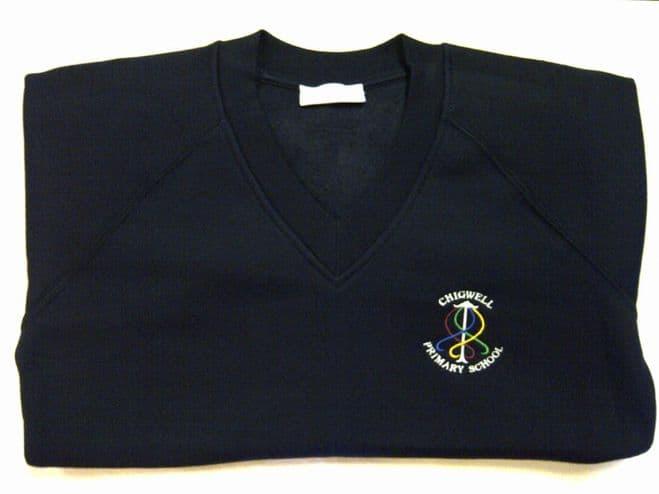 Chigwell Primary Academy V Neck Sweatshirt