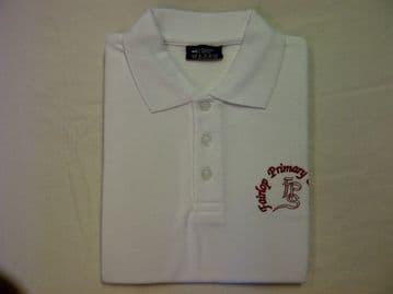 Fairlop Primary Polo Shirt White