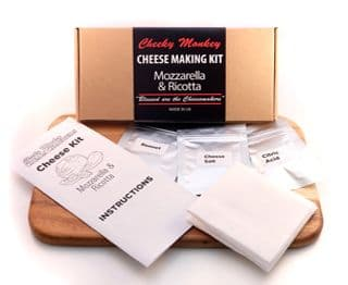Cheese Making Kit - Mozzarella and Ricotta