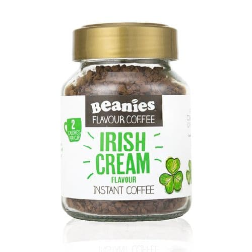 Beanies Irish Cream Flavour Instant Coffee 50g