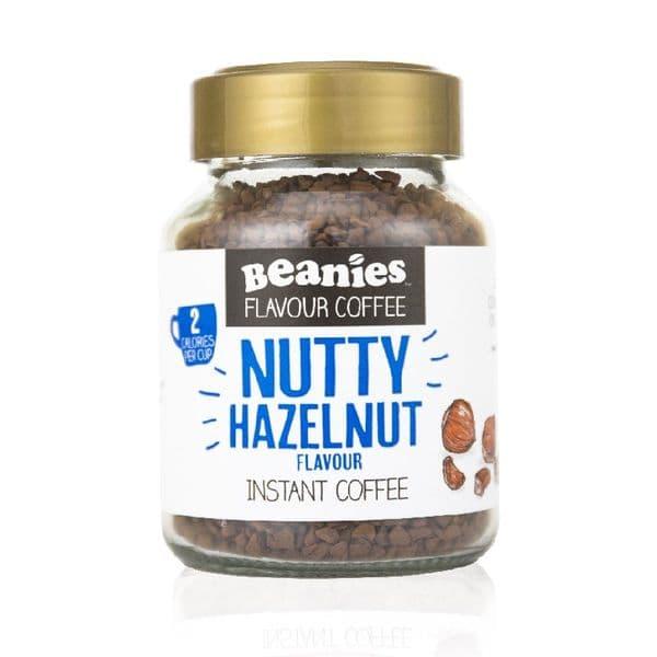 Beanies Nutty Hazelnut Flavour Instant Coffee 50g