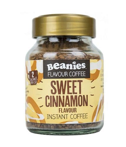 Beanies Sweet Cinnamon Flavour Instant Coffee 50g