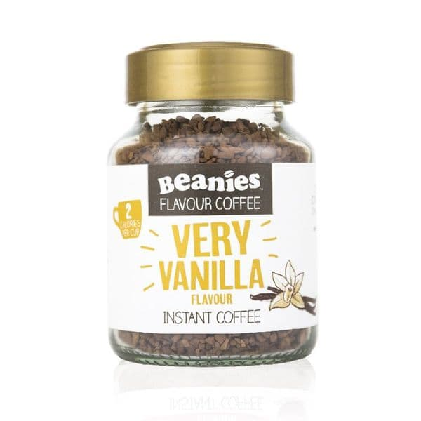 Beanies Very Vanilla Flavour Instant Coffee 50g