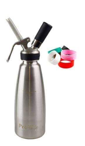 Pro Whip Master Cream Whipper 1L + 6 Grips