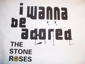 WOMENS THE STONE ROSES `I WANNA BE ADORED` T-SHIRT 2