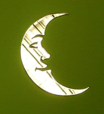 Acrylic Mirror Moon Choice of 5 Sizes