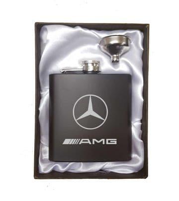 Mercedes-Benz AMG Inspired Hip Flask Set