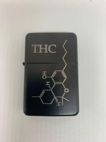 THC Molecule Zippo Lighter