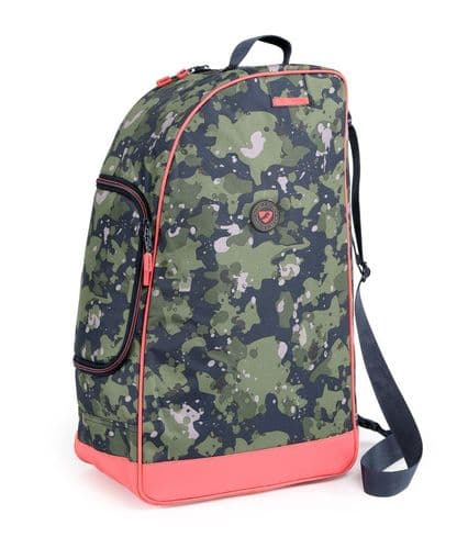 Camo Boot Hat & Whip Bag