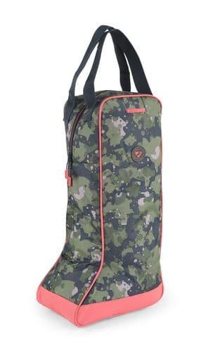 Camo Long Boot Bag