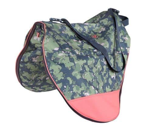 Camo Saddle Bag