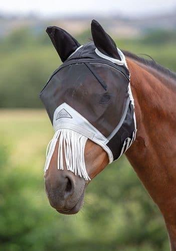 Fine Mesh Fly Mask and Nose Fringe