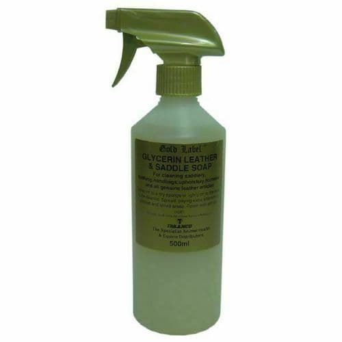 Glycerine Spray Saddle Soap