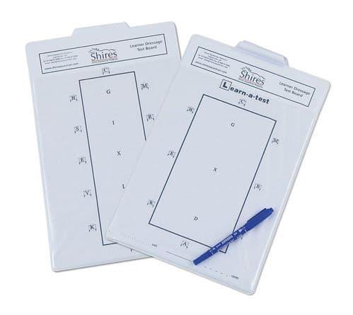 Learner Dressage Test Board