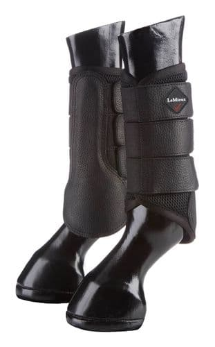 LeMieux ProSport Mesh Brushing Boot Black