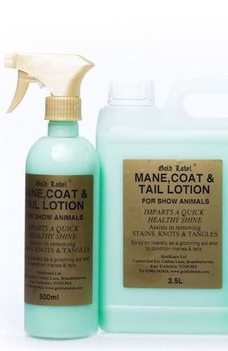 Mane Tail & Coat Spray  500ml