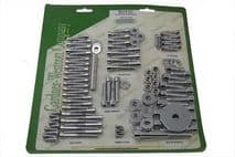 Chrome Allen Screw Engine Dress Up Kit for Harley Davidson FLT (1999-2006)