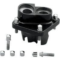 Chrome Lifter Block Bolt Caps (1976-99)