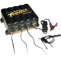 Deltran Four Station Battery Management System For Harley Davidson Motorcycles
