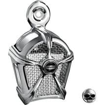 Kuryakyn Chrome Mach 2 Horn Cover for Harley Davidson (1992-Up)