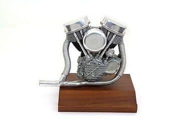 Large Harley Davidson Panhead Engine Model